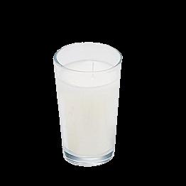 Kerze im Glas Ø 4,5 cm H 7,5 cm (Brenndauer 9 H)