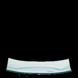 Glasplatte Verona 20 x 45 cm
