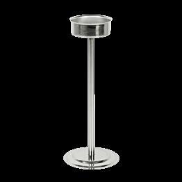 Weinkühler-Ständer Inox  Ø 19 cm H 70 cm