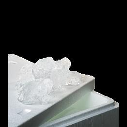 Eiswürfel 20 kg + Isolierbehälter