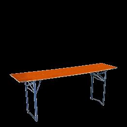 Tisch rechteckig 50 x 200 cm