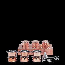 Pasta-Set Kupfer Gas