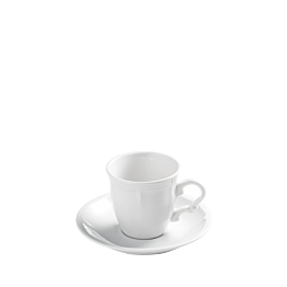 Espressotasse mit Unterteller Rohan 13 cl