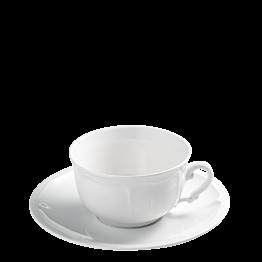 Frühstückstasse mit Unterteller Rohan 44 cl
