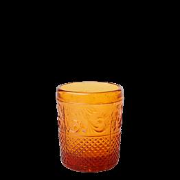 Tischlicht Barock bernstein Ø 5 cm H 6,5 cm