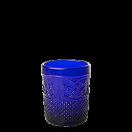 Tischlicht Barock dunkelblau Ø 5 cm H 6,5 cm