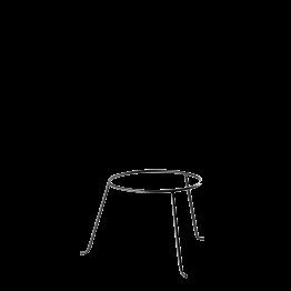 Plattenständer Eisen Ø 22 cm H 19 cm