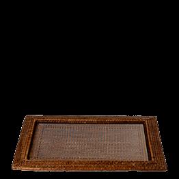 Platte Louisiane 46 x 63 cm mit Glaseinsatz