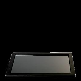 Platte Zeder 40 x 60 cm mit Glaseinsatz 32 x 53 cm