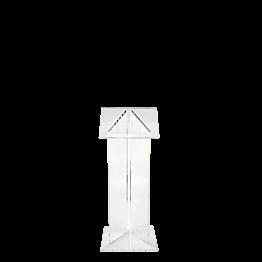 Rednerpult Plexi 50 x 40 cm H 120 cm