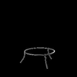 Plattenständer Eisen Ø 25 cm H 10 cm
