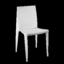 Stuhl Bellini hellgrau
