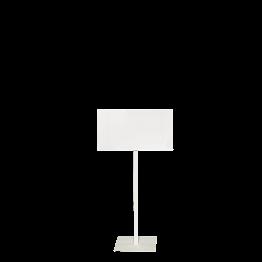 Tafel mit Fuss weiss Format A3
