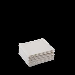 Stoffservietten 2-faltig beige 10 x 10 cm (30 Stück)