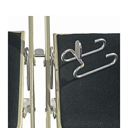Verbindungsstück für Polsterstühle aus Inox