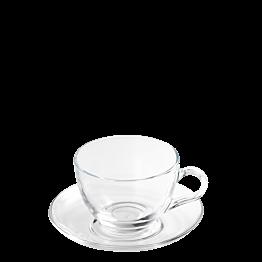 Kaffee-/Tee-Ober- & Untertasse Vague 21 cl