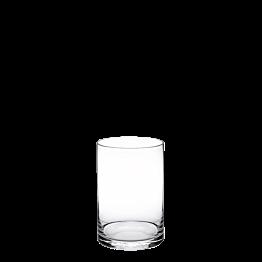Plattenständer aus Glas Ø 15 cm H 20 cm