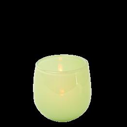 Tischlicht pistaziengrün Ø 5,5 cm H 6,5 cm