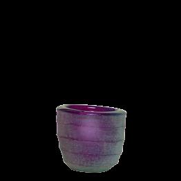 Tischlicht Capri violett Ø int 5 cm Ø 6,5 cm H 6 cm
