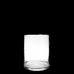 Plattenständer aus Glas Ø 25 cm H 30 cm