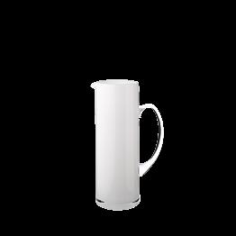 Wasserkrug Zylinder weiss 150 cl