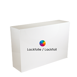Empfangsbank Lackfolie 40 x 150 cm H 110 cm - 48 h