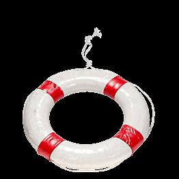 Rettungsring weiss und rot Ø 56 cm