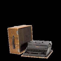 Vintage Schreibmaschine 34 x 15,5 cm H 32,5 cm
