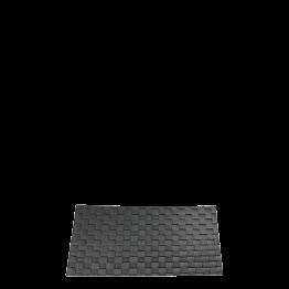 Tischset Cazak rauchschwarz 31 x 40 cm