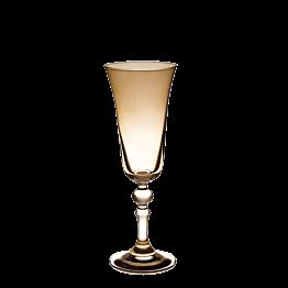 Champagnerglas rauchschwarz,15 cl