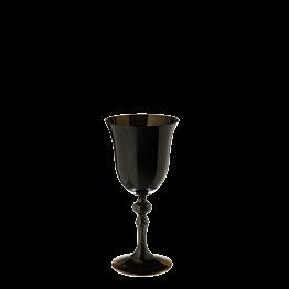 Glas schwarz 15 cl
