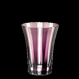 Becher Tulpe pflaumenfarbe Ø 8,5 cm H 11 cm 28 cl