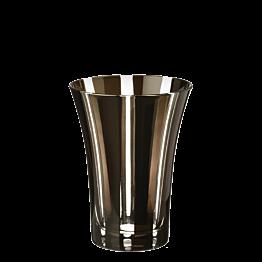Becher Tulpe schwarz Ø 8,5 cm H 11 cm 28 cl