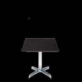 Tisch quadratisch schwarz 70 x 70 cm