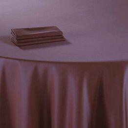 Tischtuch Dehli pflaumenfarbe 310 x 310 cm feuerfest
