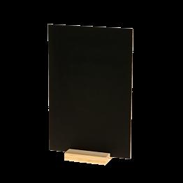 Tisch-Schiefertafel auf Holzsockel 20 x 30 cm