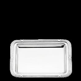 Tablett Silber Louis XVI 17 x 22 cm