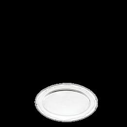 Platte oval Silber Louis XVI 46 x 59 cm