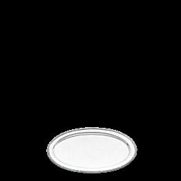Platte oval Silber Louis XVI 33 x 52 cm