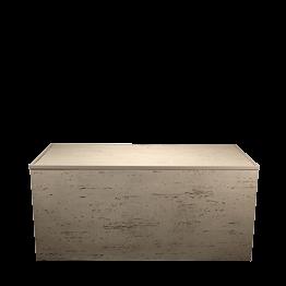 Buffet klappbar Beton 100 x 200 cm H 92 cm
