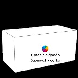 Buffet klappbar Baumwoll-Frottee 100 x 200 cm H 92 cm