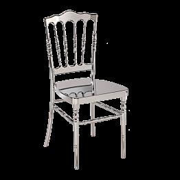 Stuhl Napoleon III chrom