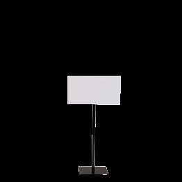Anzeigetafel mit schwarzem Ständer 40 x 50 cm H 90 bis 150 cm