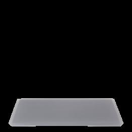 Tablett aus Kunstharz anthrazit 30 x 40 cm
