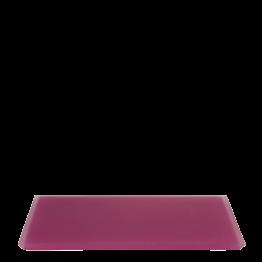 Tablett aus Kunstharz, fuchsia 30 x 40 cm