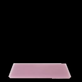 Tablett aus Kunstharz rosa 20 x 30 cm