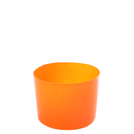 Fiesta mandarine Ø 8 cm H 6 cm 19 cl