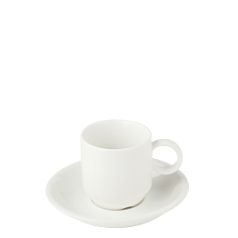 Espresso- Ober- & Untertasse Brussel 9 cl