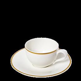Kaffee-/Teetasse mit Unterteller Luxor 25 cl