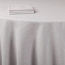 Tischtuch Leinen grau 210 x 210 cm
